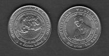 King Bhumibol Adulyadej Rama IX Agricola Award Rice Thailand 1996 20 Baht Coin