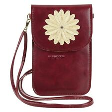 Women Daisy Touch Screen Small Shoulder phone Bag For Samsung Galaxy Note 4 /S6