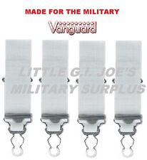 WHITE Vanguard Shirt Holders /Shirt Stays / garters US Air Force CAP 2650450W