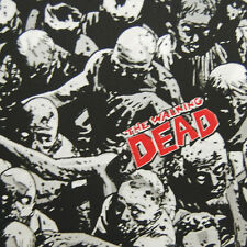 MD49 The Walking Dead Zombie Crafting By the Yard Cotton Fabric Quilt Fabric