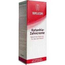 WELEDA Ratanhia Zahncreme 75 ml