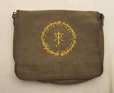 LORD OF THE RINGS EMBROIDERED MESSENGER BAG