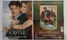 SDCC Comic Con 2013 EXCLUSIVE ABC CASTLE poster Nathan Fillion Stana Katic