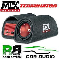 Mtx tr8pt 360 W 8 Pulgadas Activo Amplificado Sub caja caja de SUBWOOFER coche rojo bajo tubo