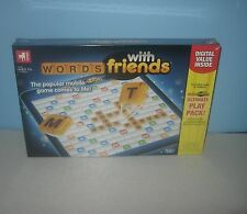Sealed New 2012 Hasbro Zynga Words With Friends Classic Word Family Fun Game
