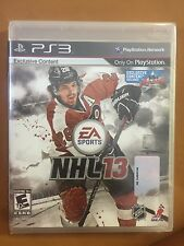 Brand New!!! NHL 13 (Sony PS3, 2012) Factory Sealed!!!