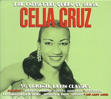 THE UNDISPUTED QUEEN OF SALSA CELIA CRUZ - 2 CD BOX SET - LATIN CLASSICS