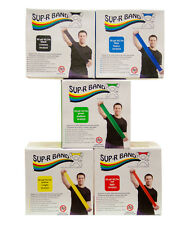 Sup-R Band Latex Free Exercise Band-50 yard roll-5-piece set 1617569 10-6328 NEW