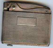 VINTAGE STERLING SILVER RONSON ADONIS LIGHTER - IN ORIGINAL BOX & POUCH