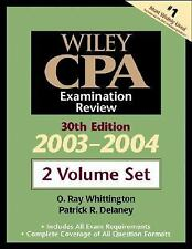 Wiley CPA Examination Review, 2 Volume Set, 30th Edition, 2003-2004
