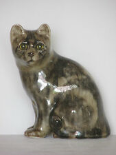 Winstanley Seated Brown Tabby Cat Ornament or Figurine