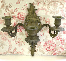 Wonderful French Antique 3 Branch Candle Wall Sconce - Rococo Style