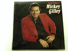Mickey Gilley - Back To Basics, 1987 Epic Label Lp Record