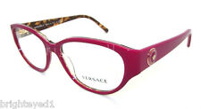 Authentic VERSACE Fuchsia Rx Eyeglass Frame VE 3183 - 5086 *NEW*  54mm