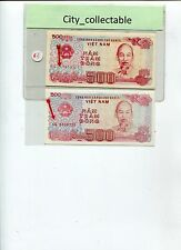 WORLD BANK NOTE - 1988 VIET NAM 500D DIFF PRINTERS UNC # B148