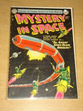 MYSTERY IN SPACE #19 VG+ (4.5) VIRGIL FINLAY ART DC COMICS APRIL 1954 **