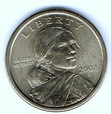 2002-D $1 Brilliant Uncirculated Business Strike Sacagawea Dollar Coin!