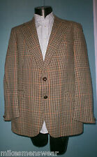 "VINTAGE BURTONS TWEED JACKET 42"" TO 44"" DOUBLE TAIL - GREAT CONDITION"