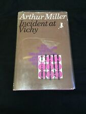 Arthur Miller Incident At Vichy Signed Autograph British 1st Edition HB Book