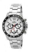 New Mens Invicta 15612 Specialty Chronograph Stainless Steel Watch