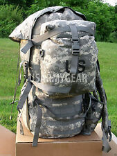 NEW Set of 2 Us Army Molle ll Acu Sustainment Pouch w Flag NO Rucksack Back Pack
