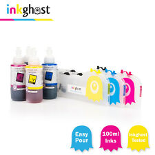 Chipped Refillable Ink Cartridges & ink   Compatible With  BROTHER LC133