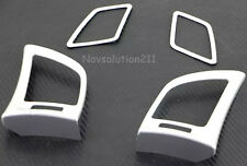 4pcs Air Outlet Frame Cover Trim For Nissan Sentra Sylphy 2012-2016