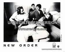 "New Order 10"" x 8"" Photograph no 4"