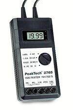 PeakTech 2765 VDE Tester 0701/0702/0751/IEC 62353 mit RS-232 C, USB Converter