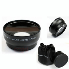 52mm 0.45X Wide Angle Macro Lens For AF-S DX Nikkor 18-55mm AF-S 55-200mm Nikon