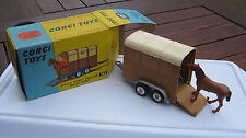 "CORGI  102 RICE""S PONY TRAILER CLOSE TO MINT ORIGINAL IN EXCELLENT ORIGINAL BOX."