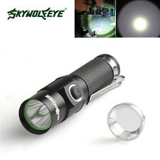 Compact 3500 Lumens 3 Modes CREE XM-L T6 LED Black 14500 Bicycle Flashlight Lamp
