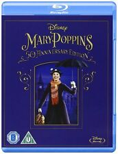 Mary Poppins: 50th Anniversary Edition (Blu-ray, Region Free) *NEW/SEALED*