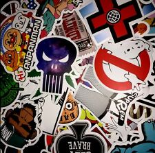 700 PCS Colorful Skateboard Stickers Luggage Car Laptop Decals Sticker Mix Lot