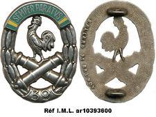 39° Régiment d'Artillerie, coq et canons argentés, Ballard (7141)