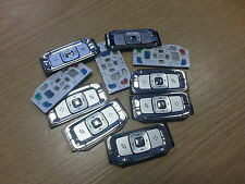 10x New Genuine Original Nokia N95 Silver Keypad Outer Buttons