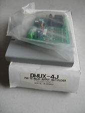 NEW PMW TO RELAY OUTPUT MULTIPLEXER DMUX-4J, SERIAL 229481