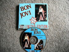 BON JOVI RARE CD LTD ED INTERVIEW PICTURE DISC BAKTABAK CHAK 4004 EXC