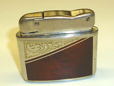 "KW (KARL WIEDEN) ""SUPERB"" AUTOMATIC WICK LIGHTER W. LACQUER CASE - 1952 -GERMANY"