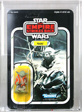 Vintage Star Wars Carded ESB 32-Back Yoda Action Figure AFA 80 NM #19059338