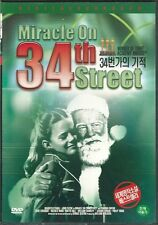 MIRACLE ON 34TH STREET  NEW  DVD