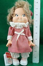 """Doll, Campbell Kids Girl Special Edition 1988. NWt, 10"""" Tall Campbell's Soup SEE"""