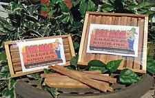 CRACKER KINDLING 100% all natural fatwood, 2 lb. crate by FATMAN BRANDS