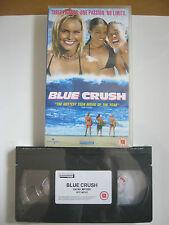 BLUE CRUSH VHS VIDEO. EAN: 5060049141480. Cert.12. Kate Bosworth. NEW / SEALED.