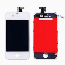 Digitizer Glass Touch Screen LCD Display For iPhone 4 4G GSM Replacement White