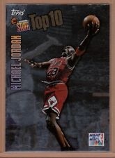Michael Jordan 1997-98 Topps Inside Stuff Top 10 Insert Card #IS1