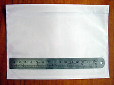 """25 CLEAR SHIPPING LABEL ENVELOPES 4.5"""" X 6"""" PACKING LIST POUCH"""