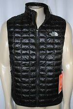 NEW MENS The North Face Thermoball Full Zip quilted extra warmth Vest SIZE L