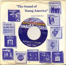 """THE FOUR TOPS """"YESTERDAY'S DREAMS"""" 60'S SP MOTOWN 1127"""