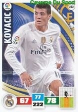 232 MATEO KOVACIC CROATIA REAL MADRID INTER CARD ADRENALYN LIGA 2016 PANINI